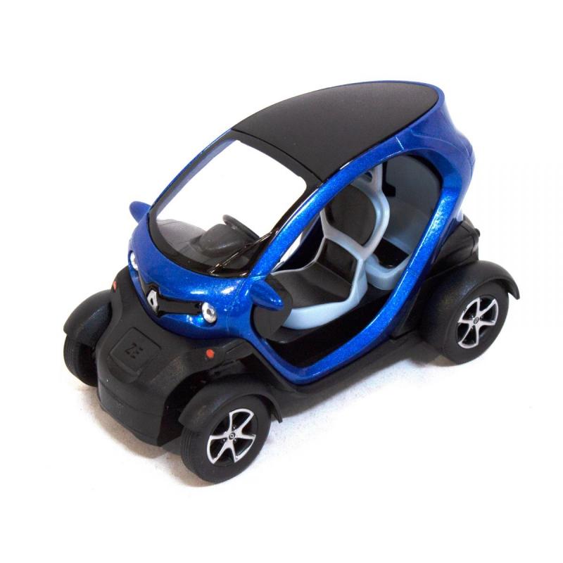 """Машинка KINSFUN Renault Twizy (синяя) купить в магазине """"Пустун"""""""