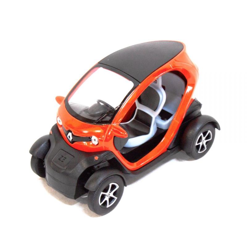 """Машинка KINSFUN Renault Twizy (оранжевая) купить в магазине """"Пустун"""""""