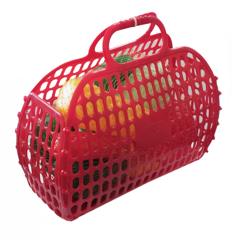 """Корзинка с овощами, 8 шт (красная) KW-04-465 купить в магазине """"Пустун"""""""
