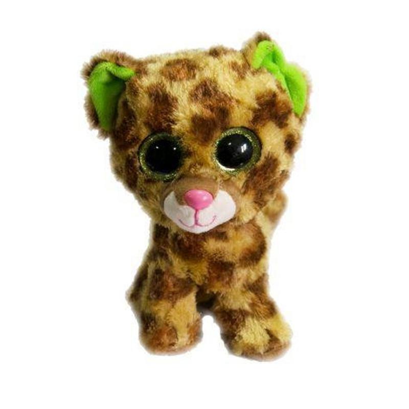 """Мягкая игрушка Глазастик: леопард купить в магазине """"Пустун"""""""