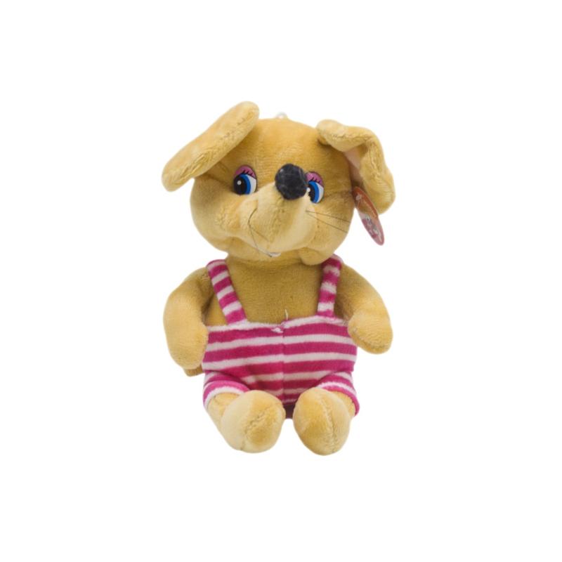 """Мягкая игрушка Мышка в полосатом коричневая купить в магазине """"Пустун"""""""
