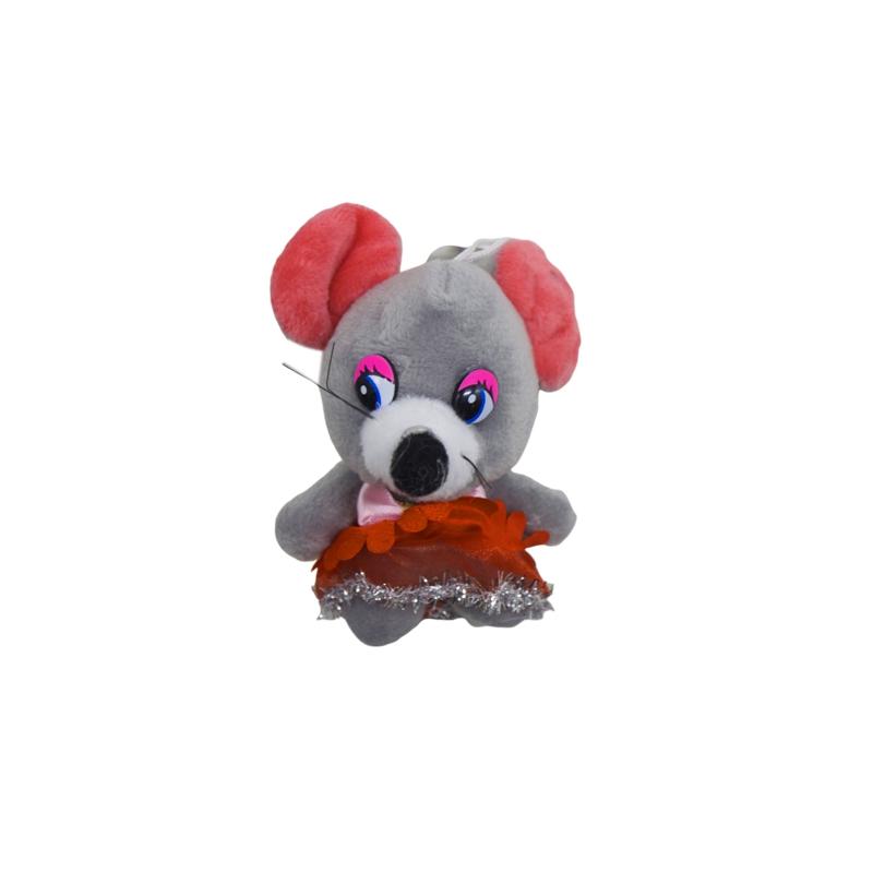 """Мышка в юбочке (серый) купить в магазине """"Пустун"""""""