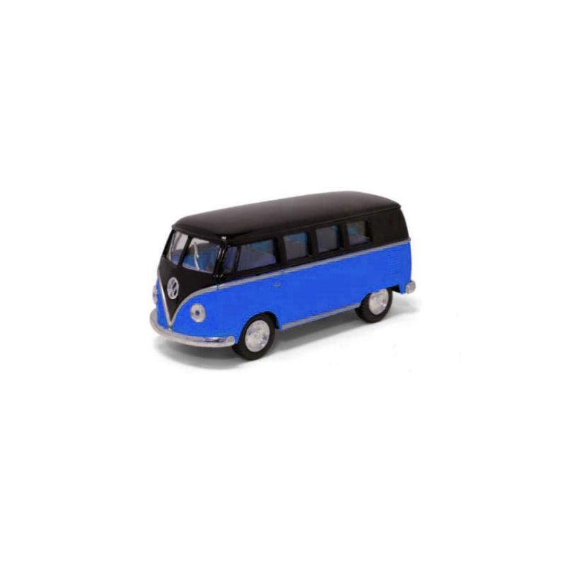 """Машинка KINSMART Volkswagen T2 BUS (синяя) купить в магазине """"Пустун"""""""