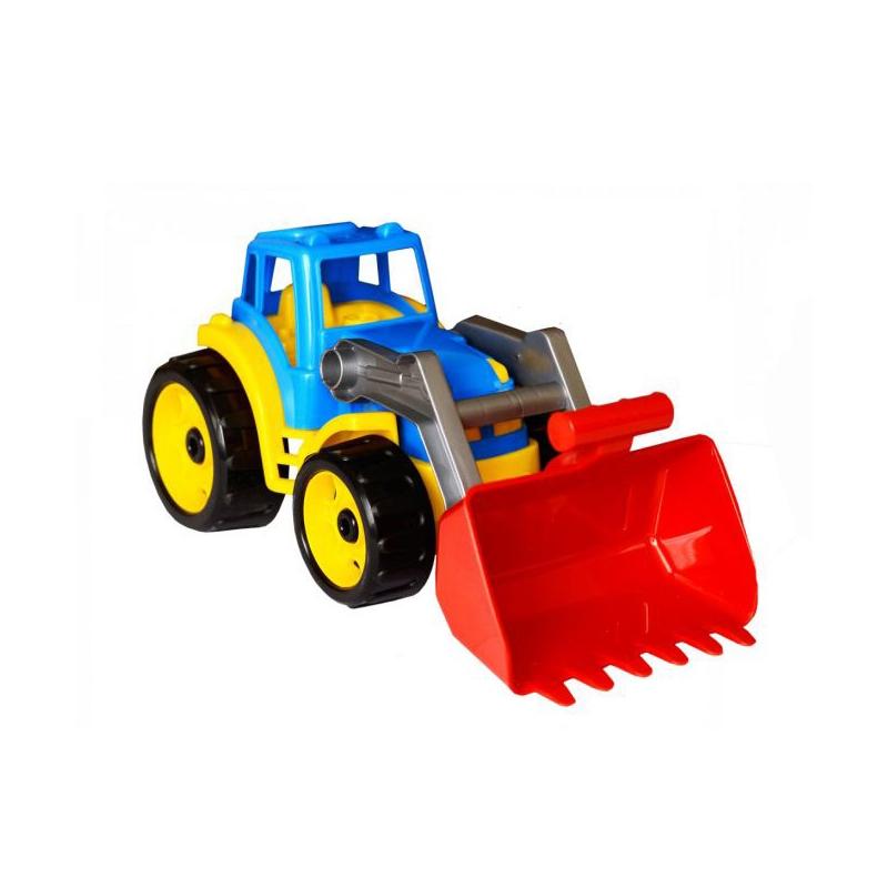 """Трактор с ковшом Технок (синий) купить в магазине """"Пустун"""""""