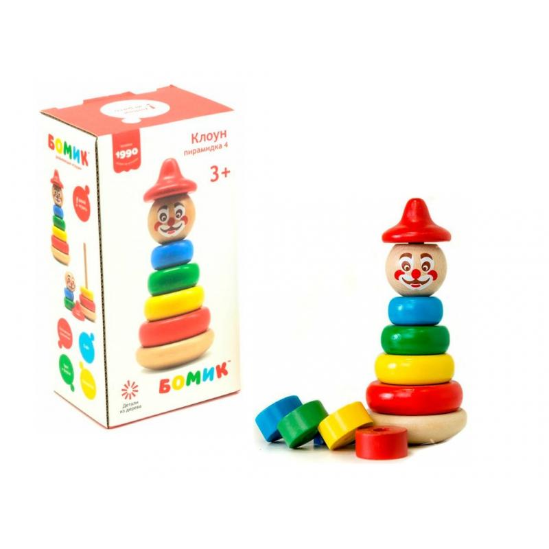 """Пирамидка Клоун (816) купить в магазине """"Пустун"""""""