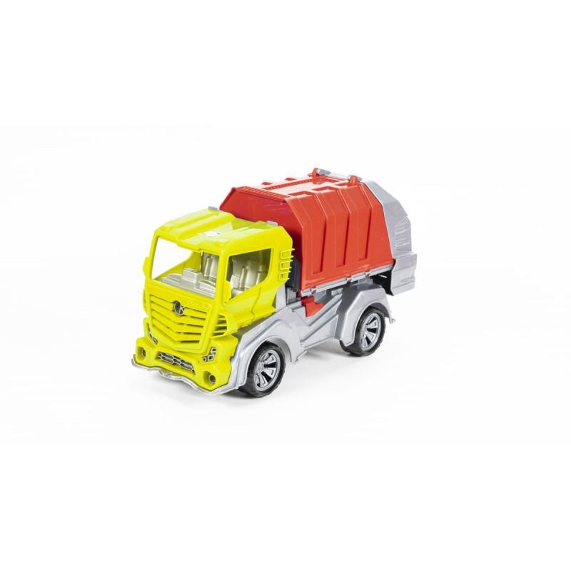 """Детский мусоровоз желтый купить в магазине """"Пустун"""""""