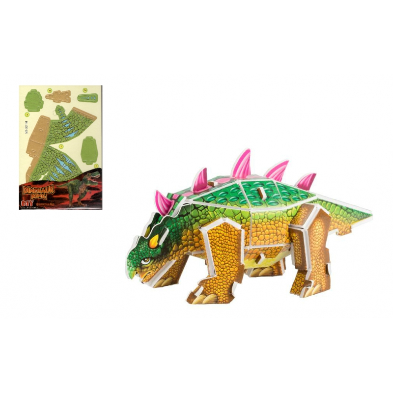 """3D пазл Динозавры купить в магазине """"Пустун"""""""