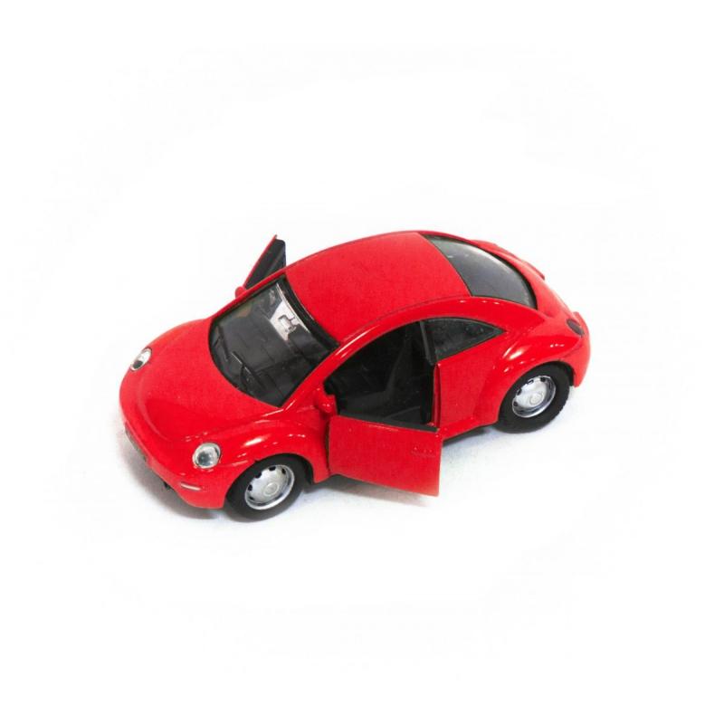 """Машина металлическая Volkswagen Beetle красная купить в магазине """"Пустун"""""""