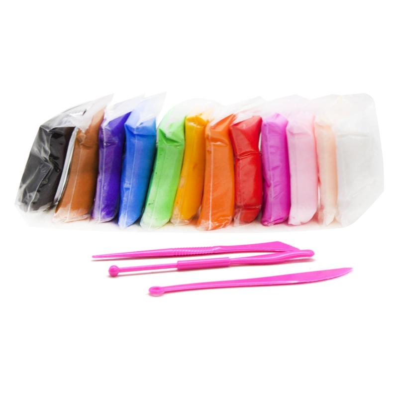 """Глина-тесто для лепки, 12 цветов А2037 купить в магазине """"Пустун"""""""