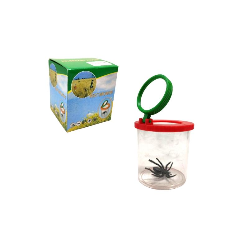 """Контейнер для насекомых с увеличительным стеклом Д683у купить в магазине """"Пустун"""""""