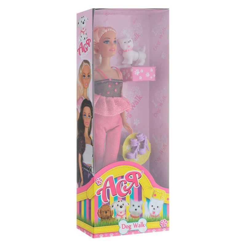 """Кукла Ася A Style с питомцем купить в магазине """"Пустун"""""""