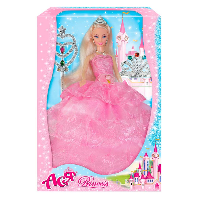 """Кукла Ася Принцесса купить в магазине """"Пустун"""""""