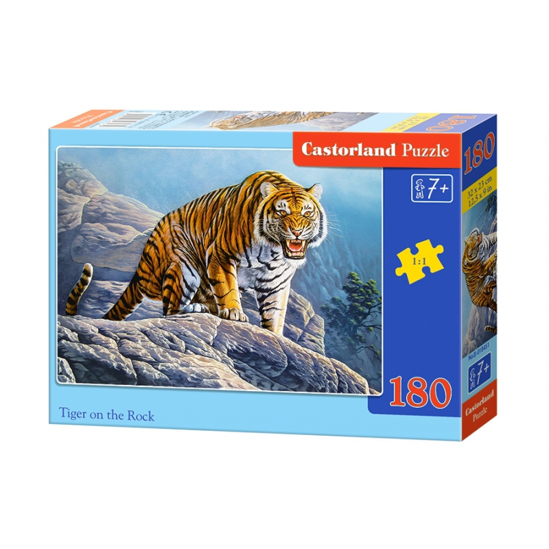 """Пазлы Величественный тигр (180 элементов) купить в магазине """"Пустун"""""""
