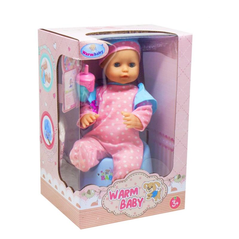 """Пупс Warm Baby, с музыкальным горшком купить в магазине """"Пустун"""""""