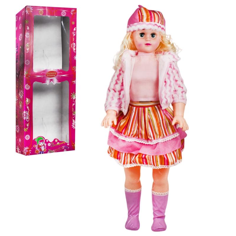 """Кукла музыкальная 75 см в розовом купить в магазине """"Пустун"""""""
