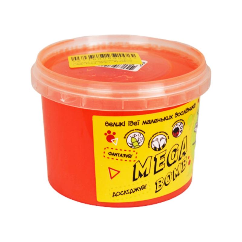 """Слайм Kids Lab: Mega Bomb №4, 350 г (коралловый) купить в магазине """"Пустун"""""""