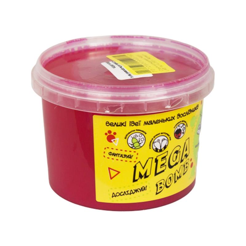 """Слайм Kids Lab: Mega Bomb №14, 350 г (малиновый) купить в магазине """"Пустун"""""""