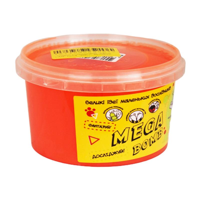 """Слайм Kids Lab Mega Bomb №4 500 г коралловый купить в магазине """"Пустун"""""""