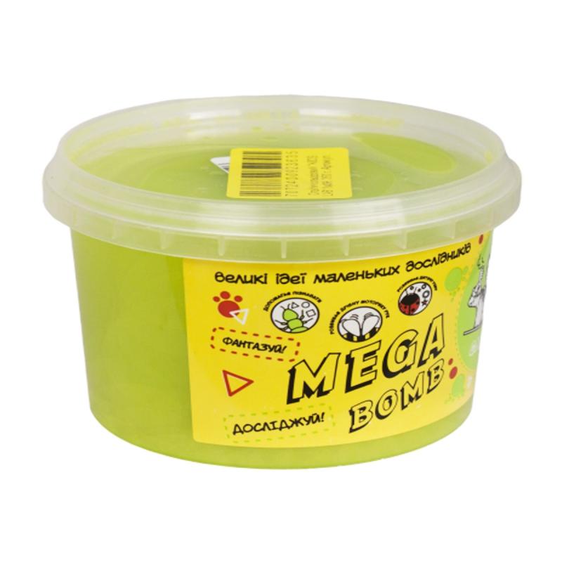 """Слайм Kids Lab Mega Bomb №9 500 г салатовый купить в магазине """"Пустун"""""""