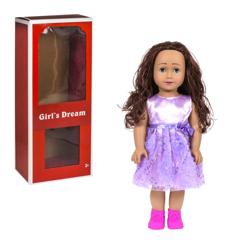 """Кукла Girls Dream 45 см в фиолетовом купить в магазине """"Пустун"""""""