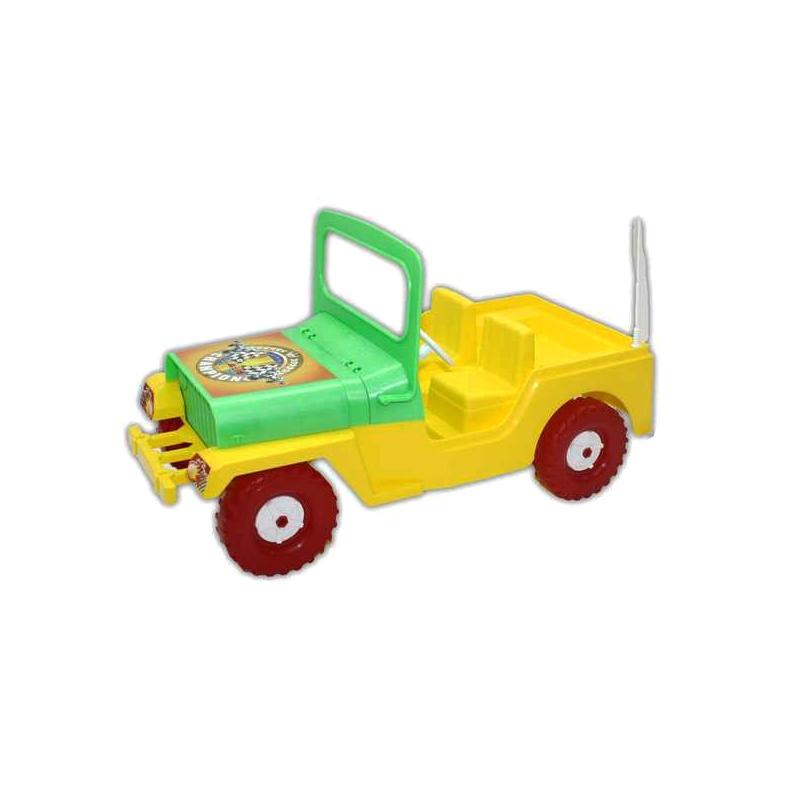 """Машинка (внедорожник) Гиго (жёлтый) купить в магазине """"Пустун"""""""