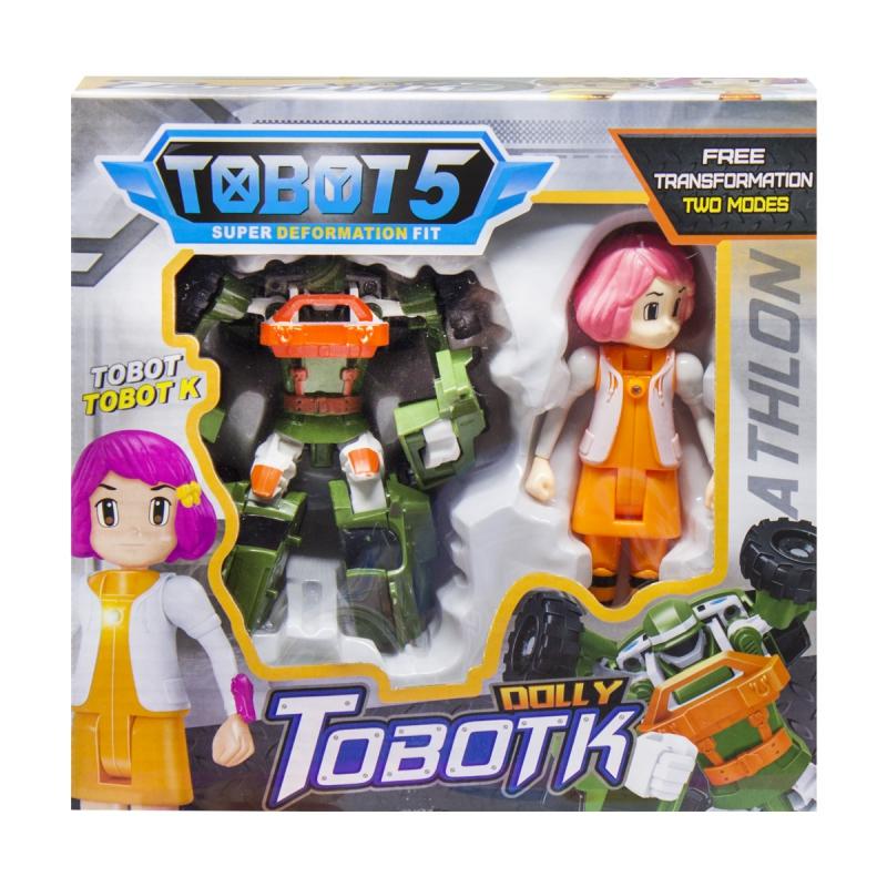 """Набор """"Tobot K и Долли """" Q1904 купить в магазине """"Пустун"""""""