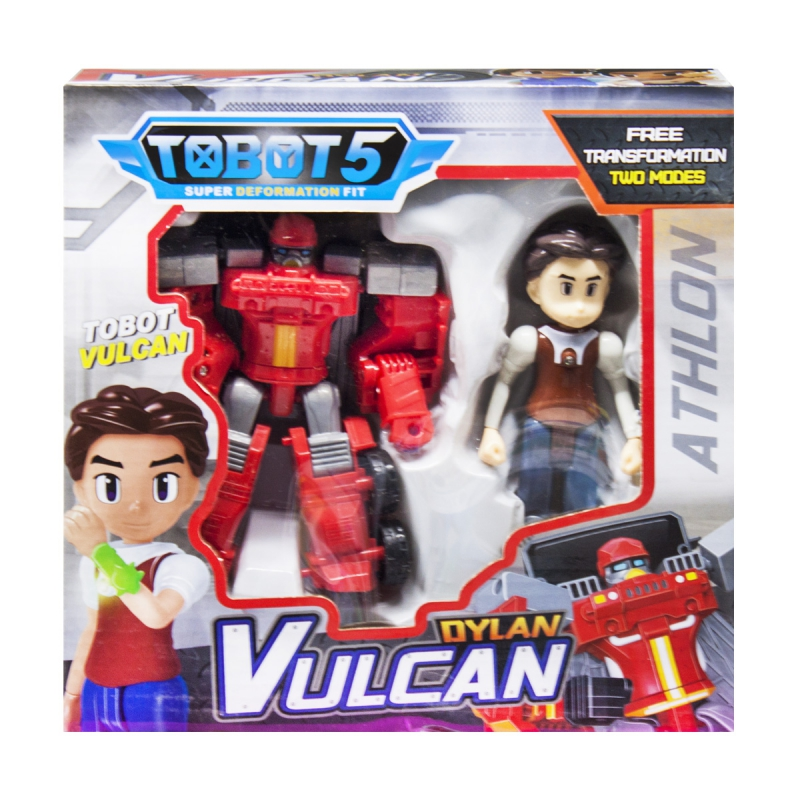 """Набор """"Tobot: Вулкан и Дилан"""" Q1904 купить в магазине """"Пустун"""""""