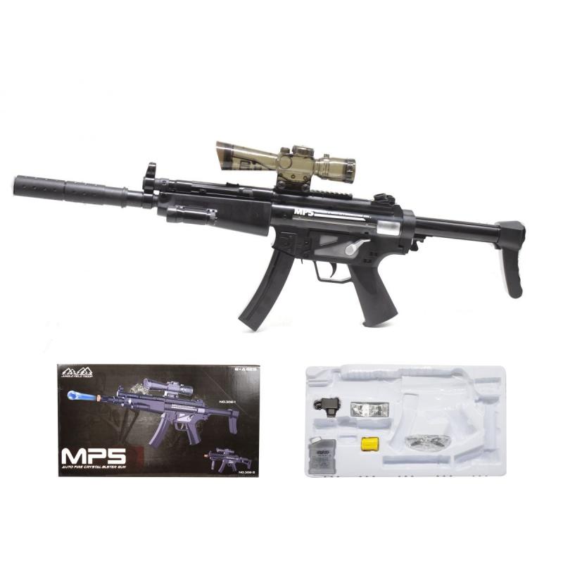 """Автомат MP5 с гелевыми пульками купить в магазине """"Пустун"""""""