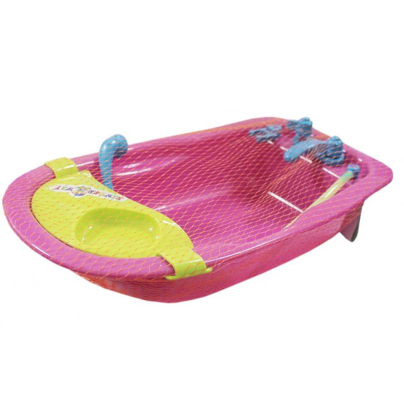 """Ванночка для куклы (розовая) KW-35-025 купить в магазине """"Пустун"""""""