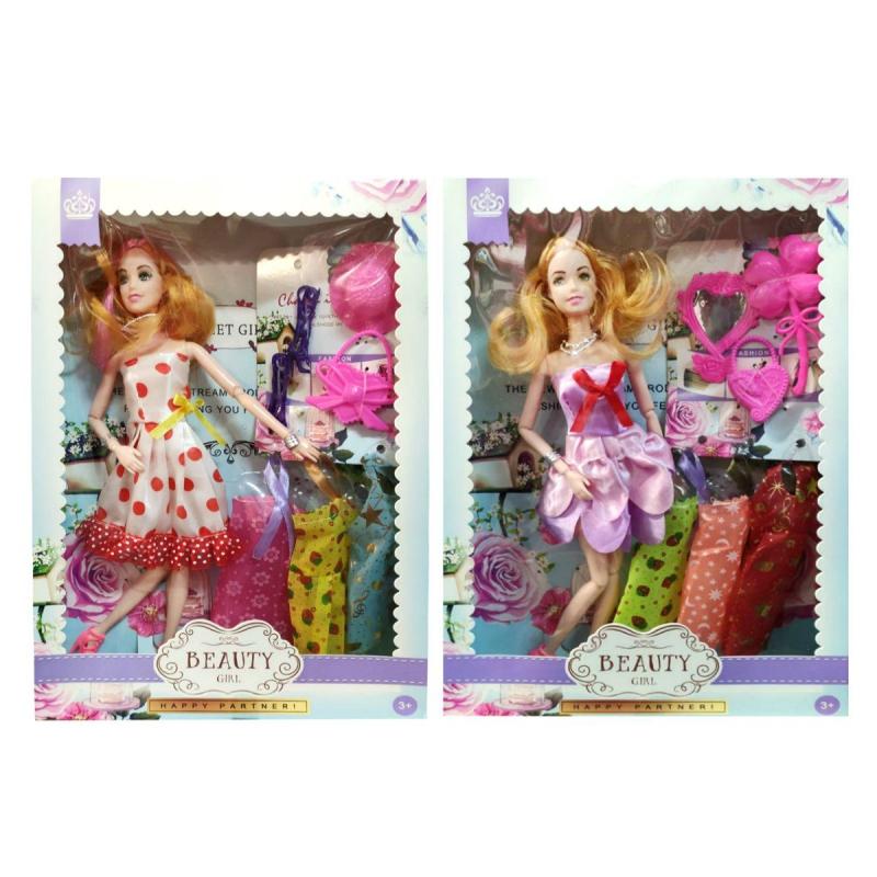 """Кукла Beauty Girl с платьями в коробке купить в магазине """"Пустун"""""""
