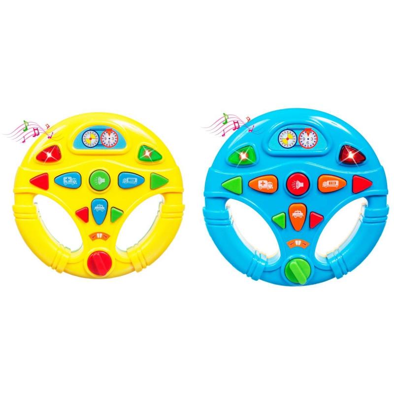 """Интерактивная игрушка Мой первый руль купить в магазине """"Пустун"""""""