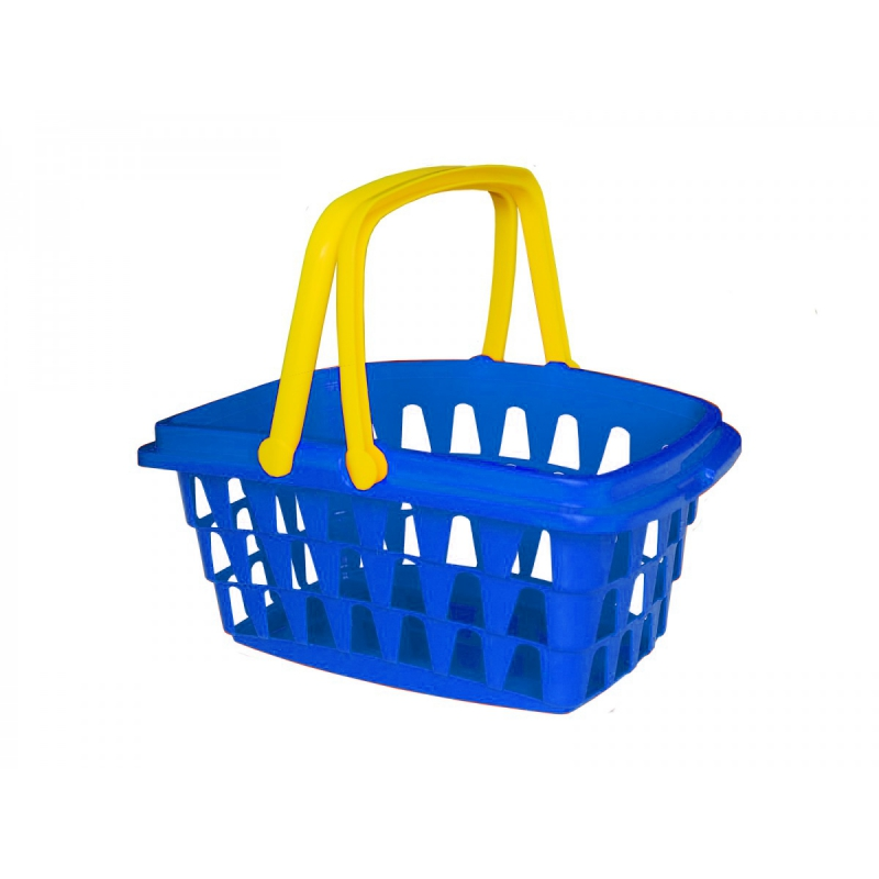 """Корзинка с ручками """"Технок"""" (синяя) 3053 купить в магазине """"Пустун"""""""