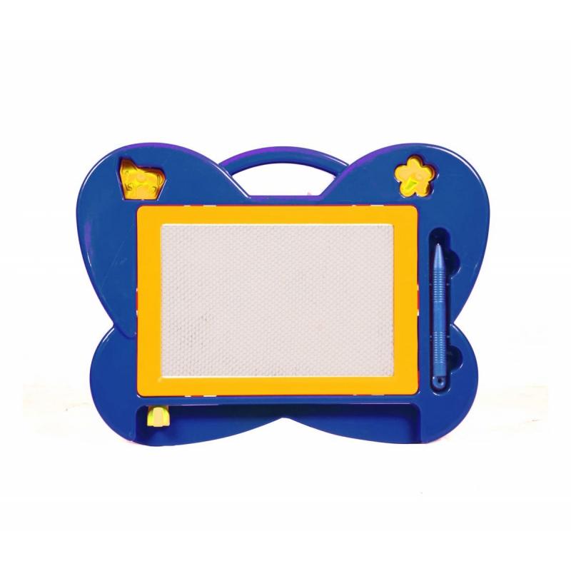 """Магнитная досточка для рисования Бабочка (синяя) HS105 купить в магазине """"Пустун"""""""