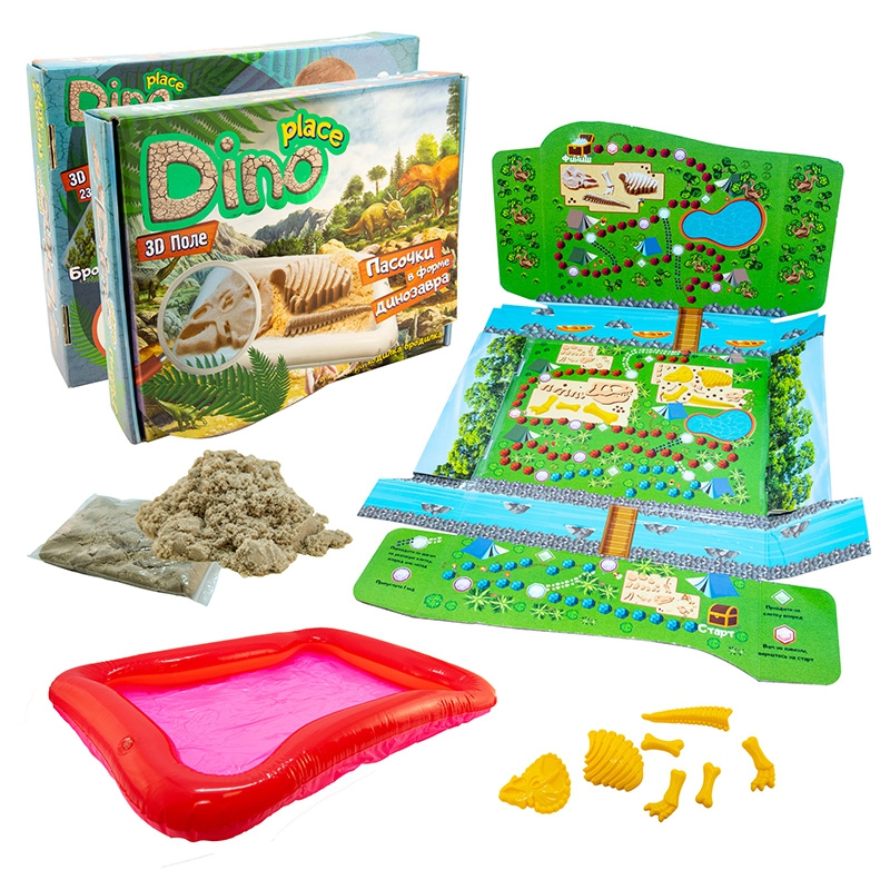 """Набор для творчества """"Dino place"""" 51202 купить в магазине """"Пустун"""""""