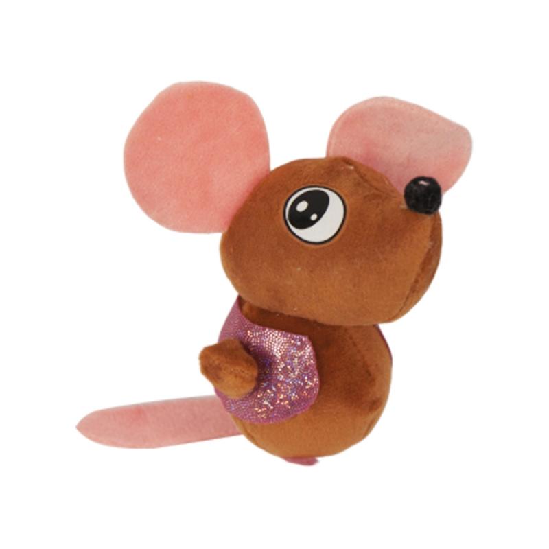 """Брелок мышка (коричневый) купить в магазине """"Пустун"""""""