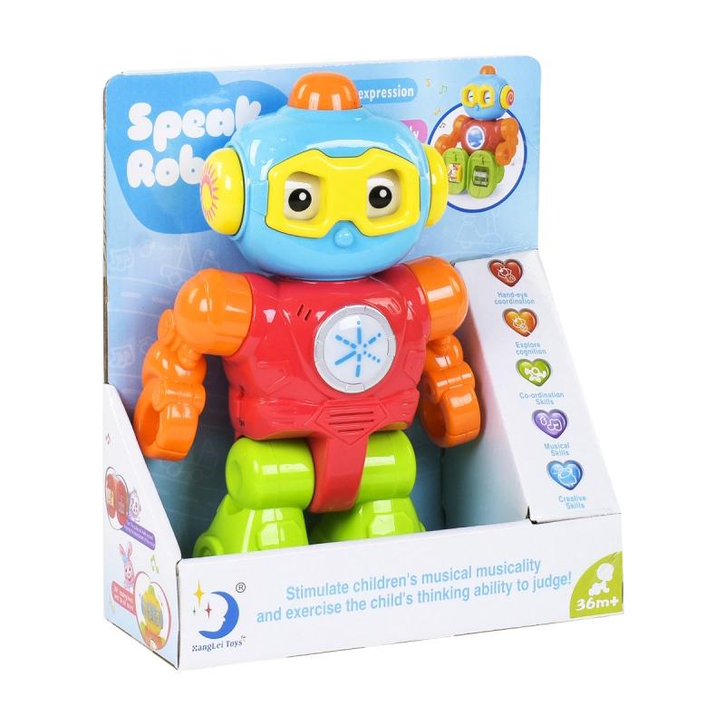 """Говорящий игрушечный робот eng купить в магазине """"Пустун"""""""