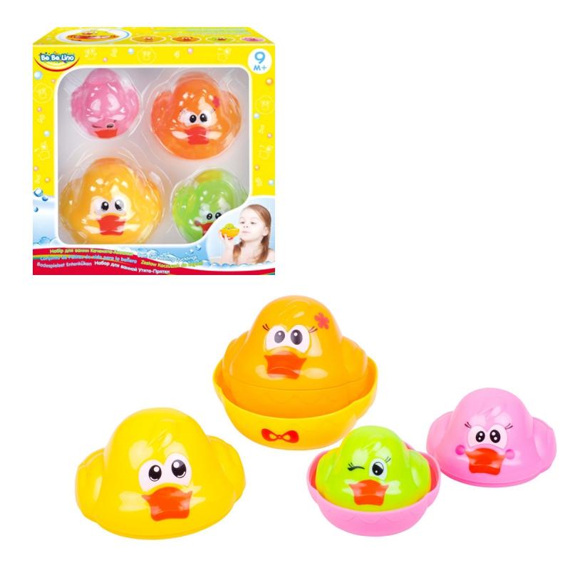 """Набор игрушек для ванной """"Утята-матрёшка"""" 58087 купить в магазине """"Пустун"""""""