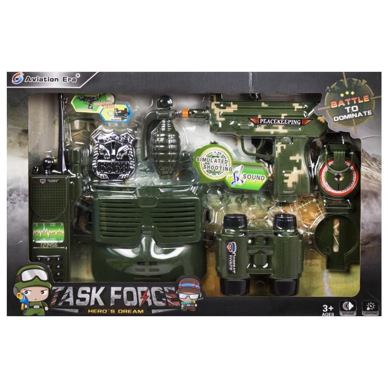 """Детский военный набор оружия с маской купить в магазине """"Пустун"""""""