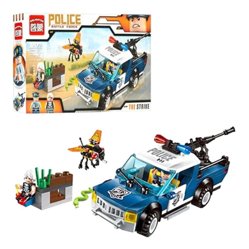"""Конструктор Police Battle Force, 186 деталей купить в магазине """"Пустун"""""""