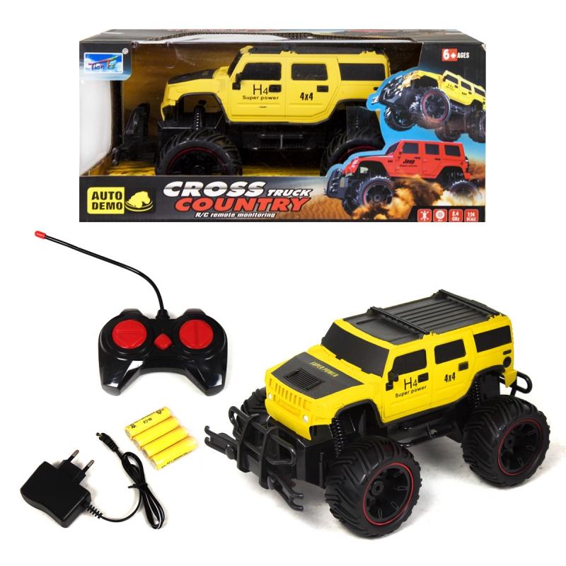 """Машинка CROSS COUNTRY (желтый) КВ-021 купить в магазине """"Пустун"""""""