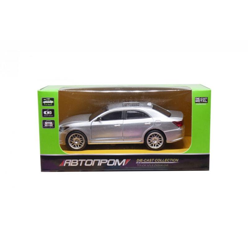 """Машинка Toyota Crown из серии Автопром (серебристая) купить в магазине """"Пустун"""""""