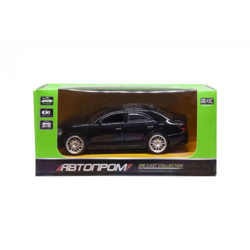 """Машинка Toyota Crown из серии Автопром (черная) купить в магазине """"Пустун"""""""