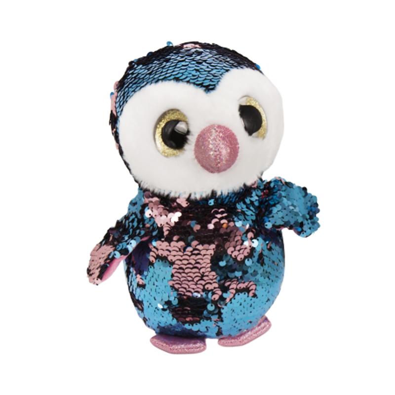 """Мягкая игрушка """"Глазастик в пайетках, Пингвинчик"""" C37828 купить в магазине """"Пустун"""""""