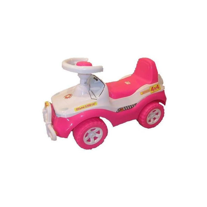"""Каталка """"Джипик"""" (розовый) 105 купить в магазине """"Пустун"""""""