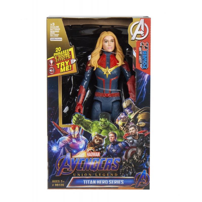 """Фигурка """"Супергерой: Капитан Марвел"""" 99106 купить в магазине """"Пустун"""""""