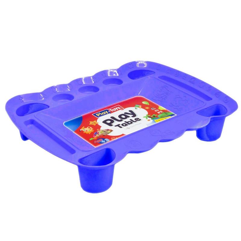 """Игровой столик для песка и пластилина (фиолетовый) PT 4164 купить в магазине """"Пустун"""""""