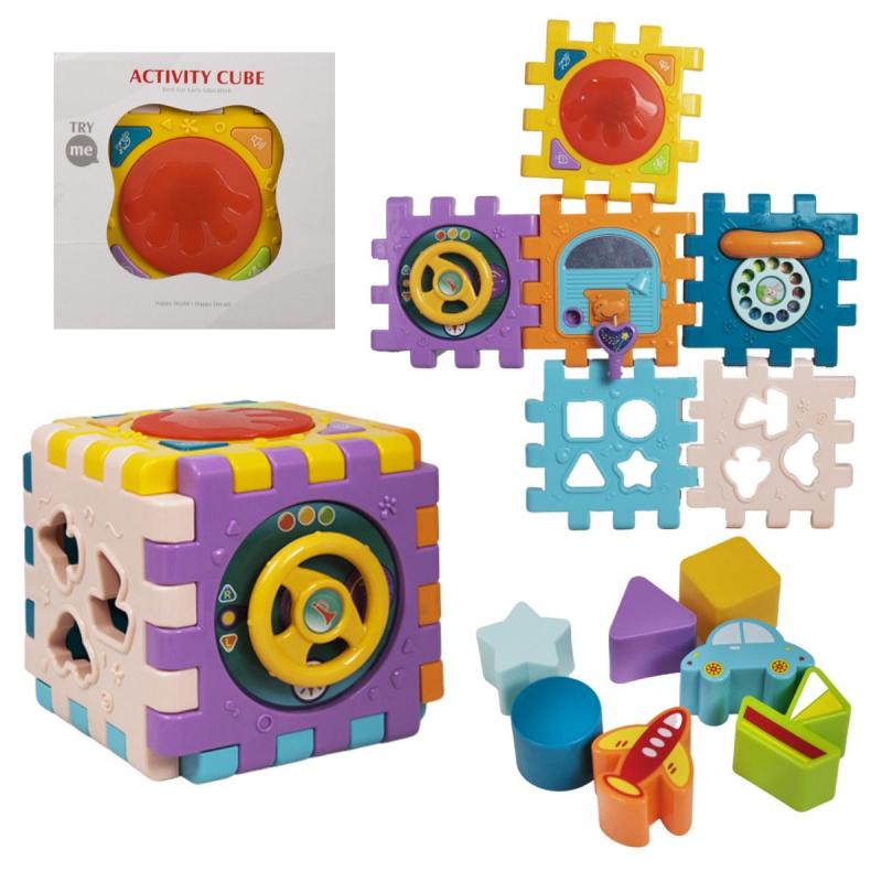 """Интерактивная игрушка Куб-логика купить в магазине """"Пустун"""""""