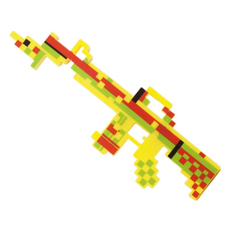 """Автомат MINECRAFT (желтый) купить в магазине """"Пустун"""""""
