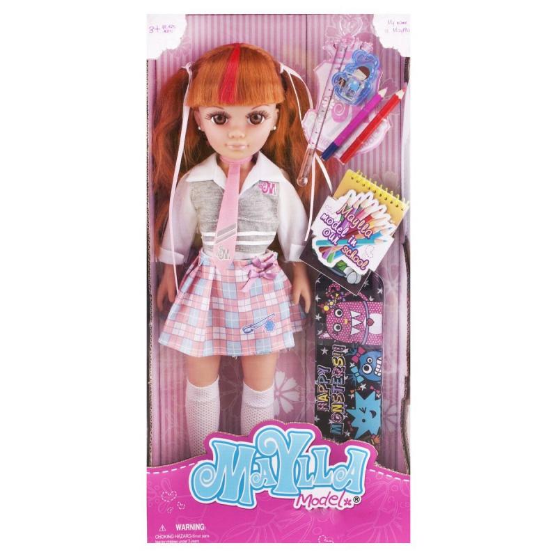 """Кукла """"Maylla: школьница"""", со школьными принадлежностями 88112 купить в магазине """"Пустун"""""""