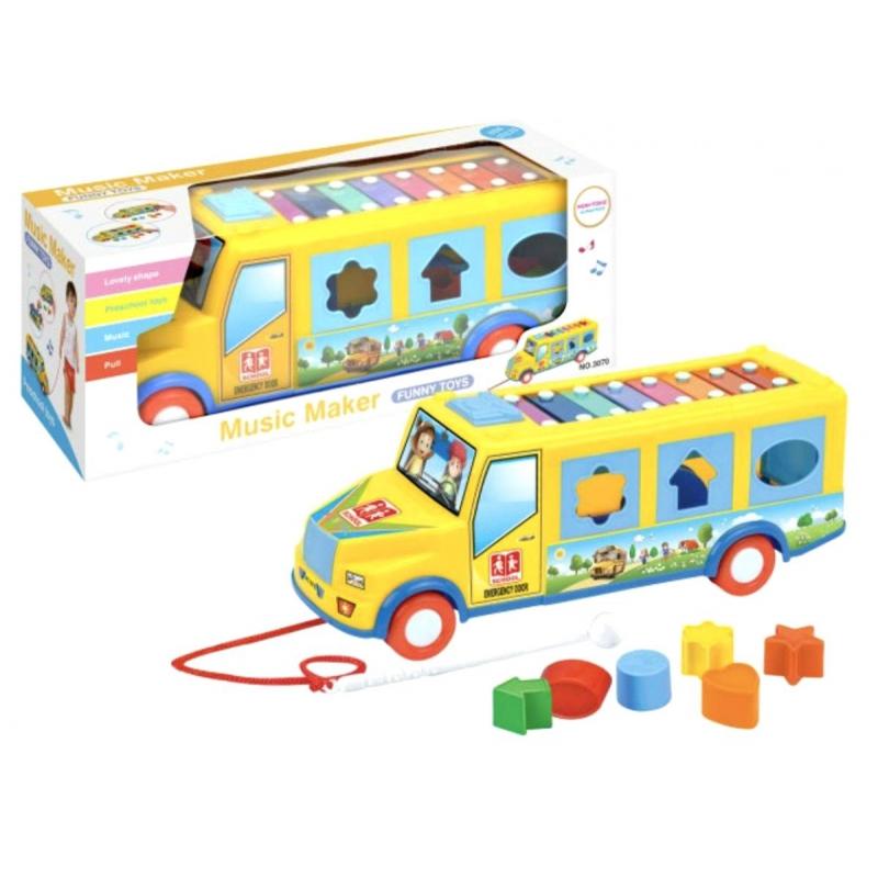 """Многофункциональная игрушка Школьный автобус купить в магазине """"Пустун"""""""